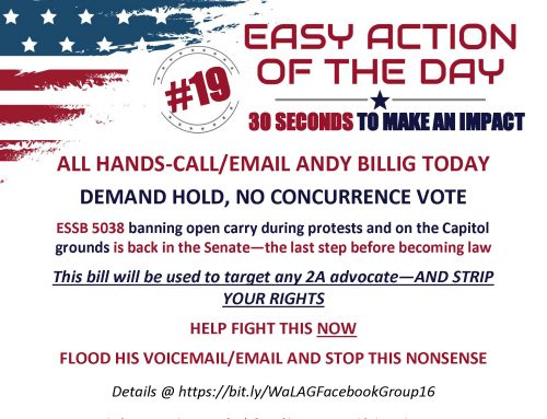 EAOD-19: FLOOD BILLIG'S VMAIL/EMAIL: URGE NO CONCURRENCE VOTE ON ESSB 5038